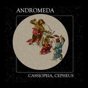 Greek constellation Cassiopeia